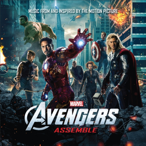 MARVEL MUSIC/HOLLYWOOD RECORDS AVENGERS