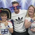 David Beckham y adidas sorprenden a los fans de Gran Bretaña