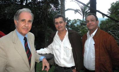 Carlos Armando Figueredo, Julio Sosa Pietri y César Bello