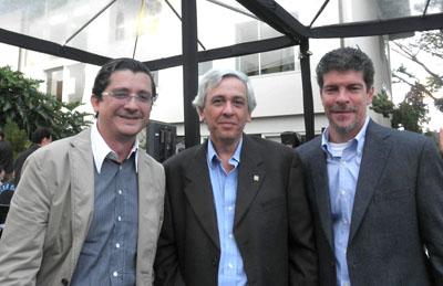 Federico Dubuc, José Vicente Gutiérrez y Luis Enrique Pages