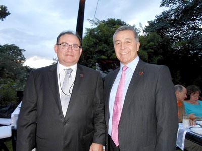 José Luis Insua y Daniel Blanco