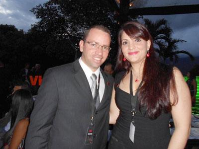 Andrés Verde y Luciana Petraglia