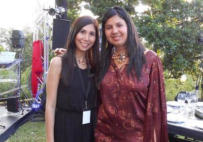 Maria Victoria Rendon y Saomara Larreal