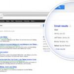 Gmail en el buscador