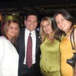 Keila Araujo, Angel Alvarez, Norys Cohen y Carolina Bello