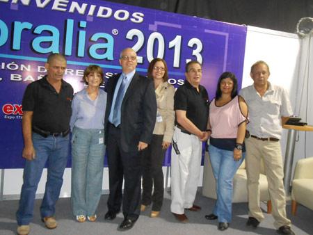 Freddy-Rivas,-Elida-Barrera,-Romeo-Morabito,-Adriana-Morales,Arturo-Sabal,-Margaret-Salas-y-Jesus-Garcia