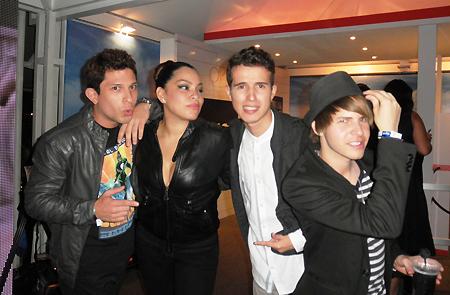 Leonardo-Salazar,-Yessy-Rondon,-Rodolfo-Azuaje-y-Carlos-Carrasco