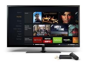 El Amazon FireTV es pequeño