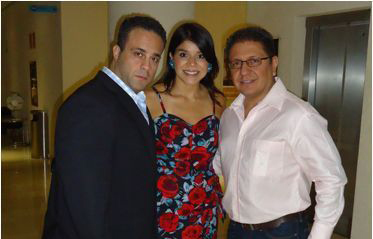 Tamer El Guindy, Calhermi Naranjo y Edgardo Pacheco