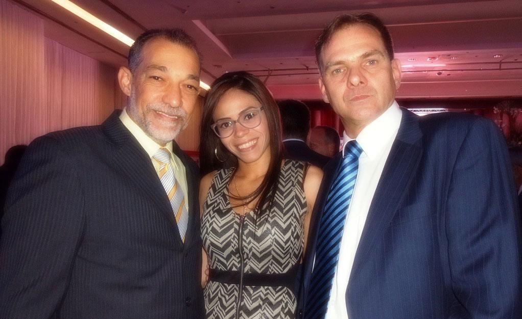 Ricardo Mariño, Roxy Crespo, Iván Plaz