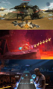 Galaxy on Fire: Manticore Rising, Rayman Adventure y  Guitar Hero Live