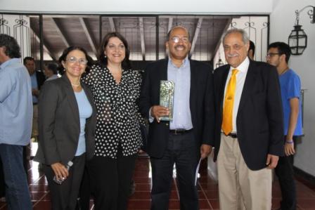 Marisol Fuentes Nino, Catalina Ramos, William Nazaret y Enrique Planchart