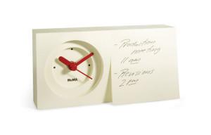Reloj de escritorio Bloc de Notas