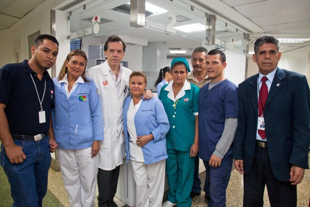 Personal de Centro Medico de Caracas