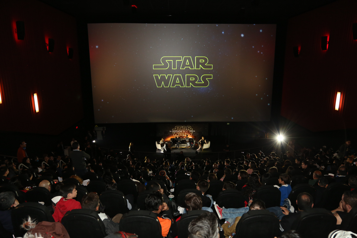 Star Wars Mexico City Fan Screening Event