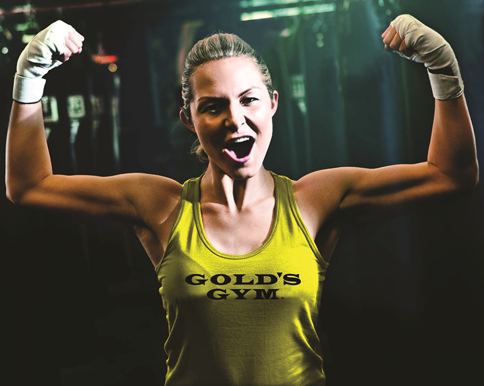 Chica Golds Gym