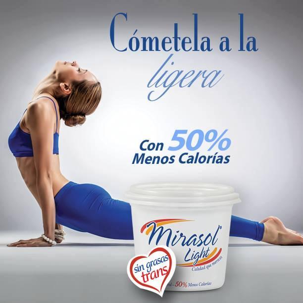 margarina Mirasol Light