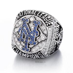 Anillo de los New York Mets National League 2015