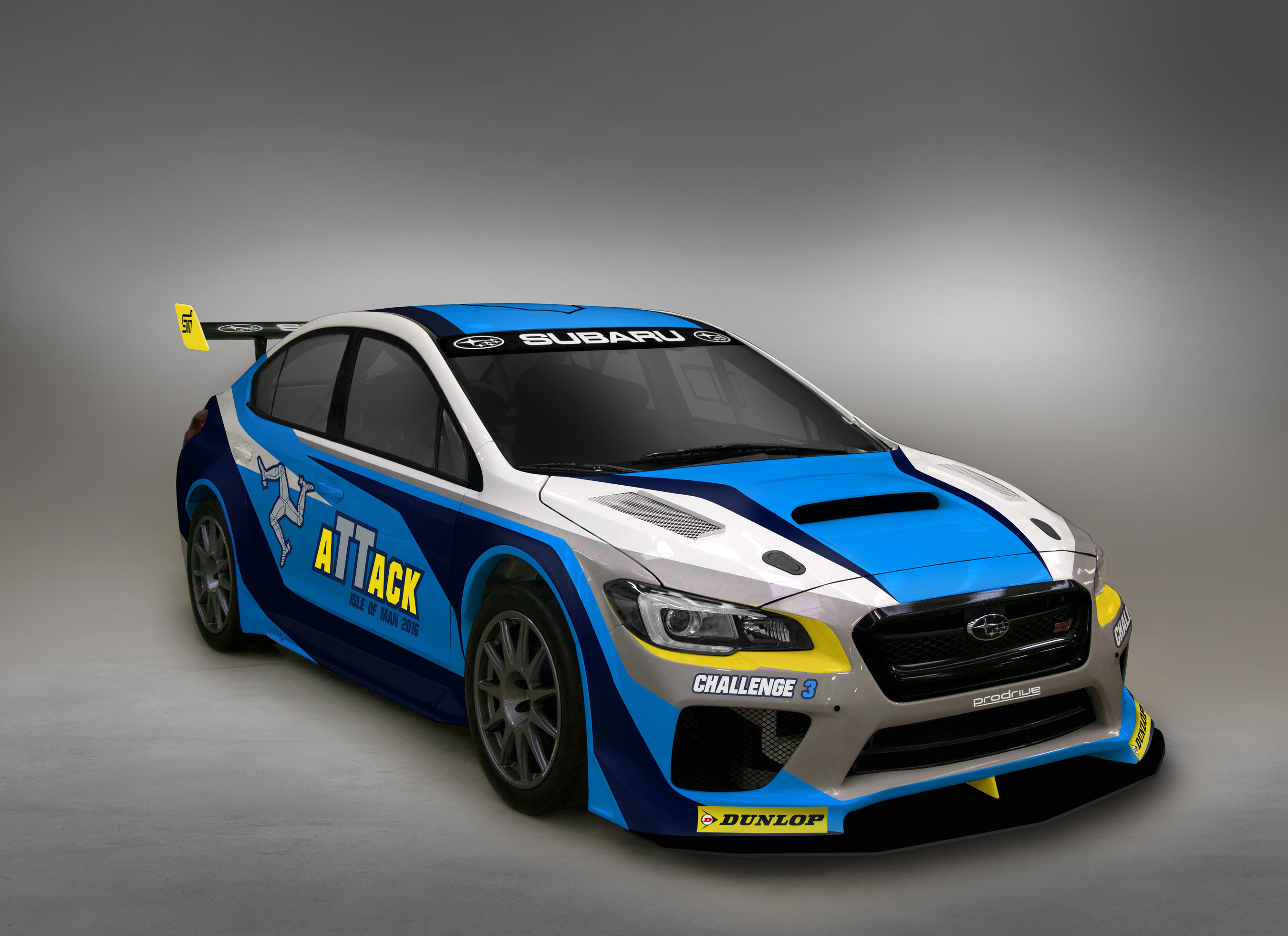 Subaru of America Inc Isle of Man Time Attack Car